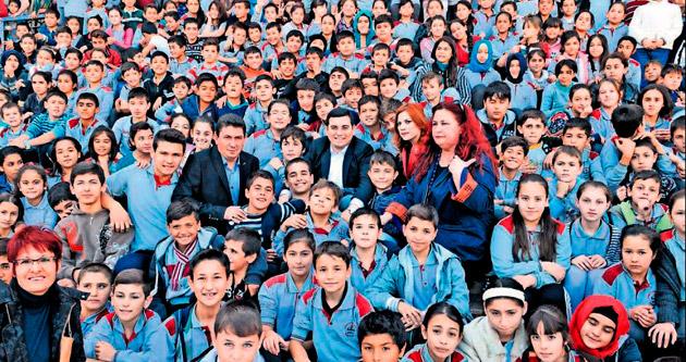 Kepez'de okullar daha güzel