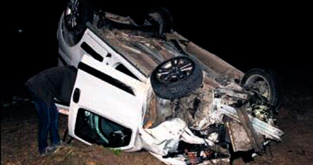 Beypazarı'nda feci kaza: 2 ölü