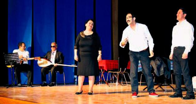 Engellilerden tiyatro oyunu