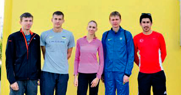 Ukraynalı milli atletler kamp için Adana'da