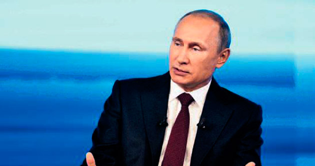 Putin: Ömür boyu kalmayacağım
