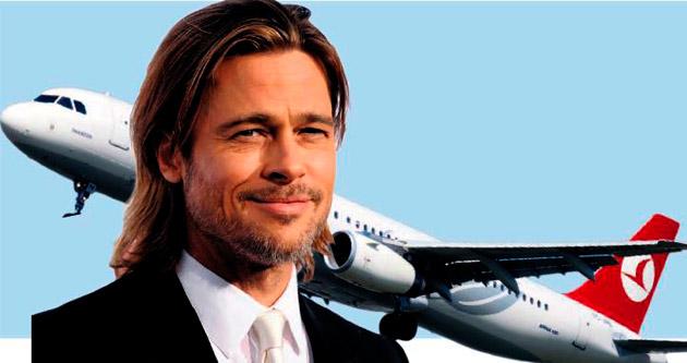 THY'nin yeni yüzü Brad Pitt