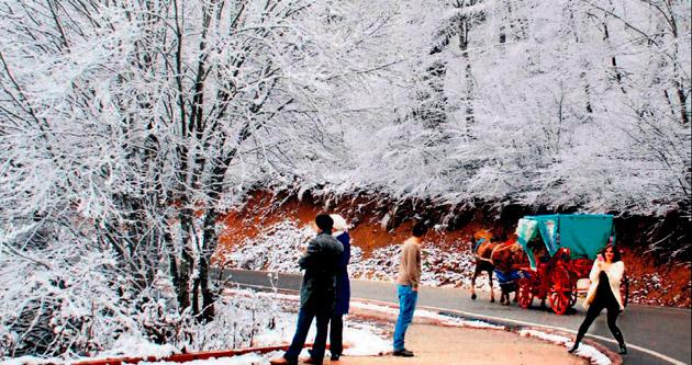 Anadolu'da hafta boyu kar yağışı