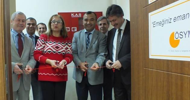 Nevşehir'de ÖSYM bürosu yenilendi
