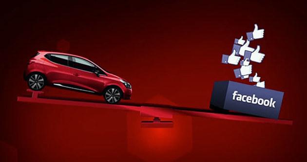Facebook, Renault Clio'ya eklendi