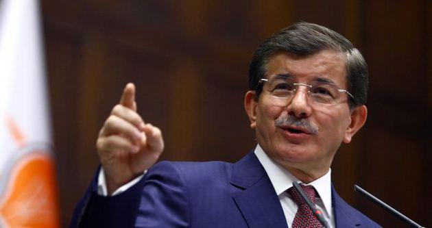 Davutoğlu, AK Parti Grup Toplantısı'nda konuştu