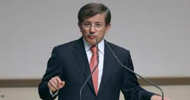 Davutoğlu toplu açılış töreninde konuştu