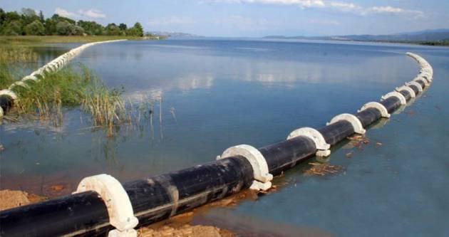 TÜPRAŞ Sapanca Gölü'nden izinsiz su çekiyor