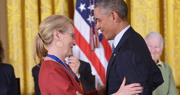 Obama'dan Oscar'lı Oyuncuya İlan-ı Aşk