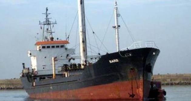 Türk gemisi sürükleniyor