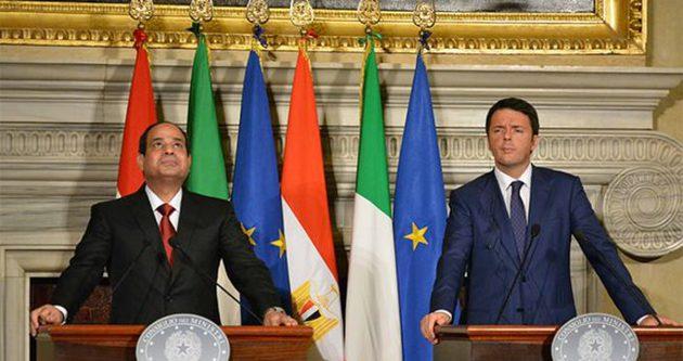Avrupa, Sisi'yi meşru kabul ediyor!