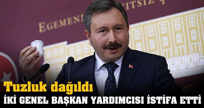 İdris Bal'a istifa şoku