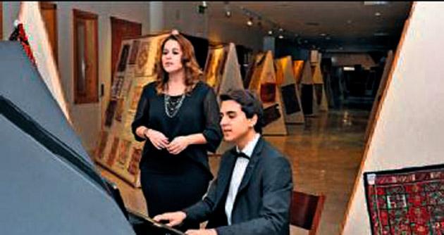 Genç sanatçıdan piyano resitali