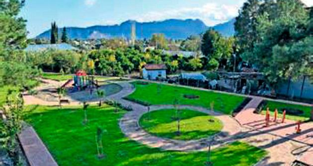 Gökçamlılara modern park