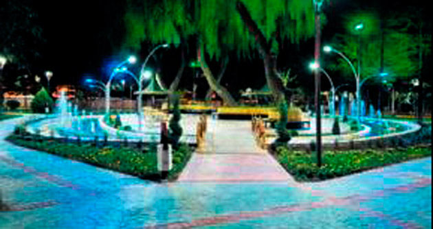 Keçiören'in parklarında LED teknolojisi dönemi