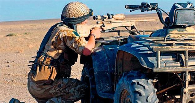 İngiliz komandolar IŞİD'i karadan vuruyor
