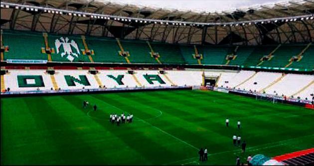Trabzon maçı Konya'da