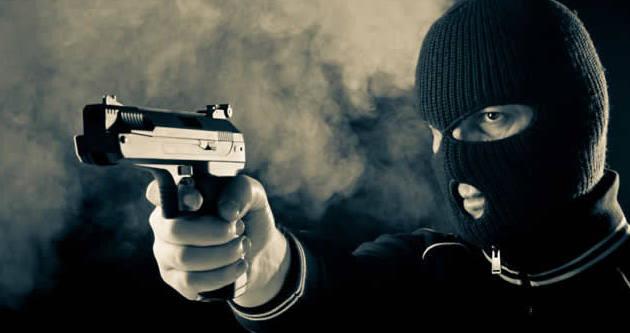 Ünlü meydanda silahlı soygun