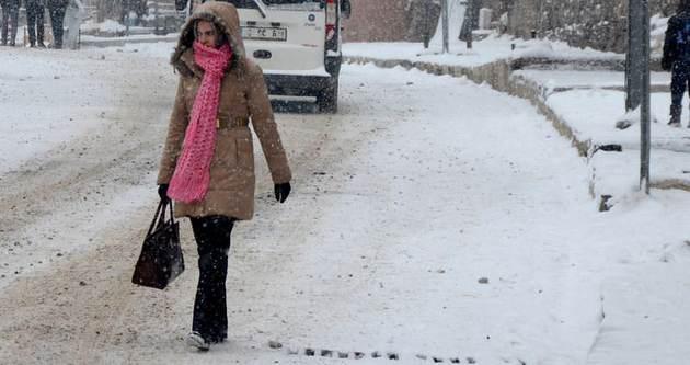 Karlı ve buzlu havalara dikkat!