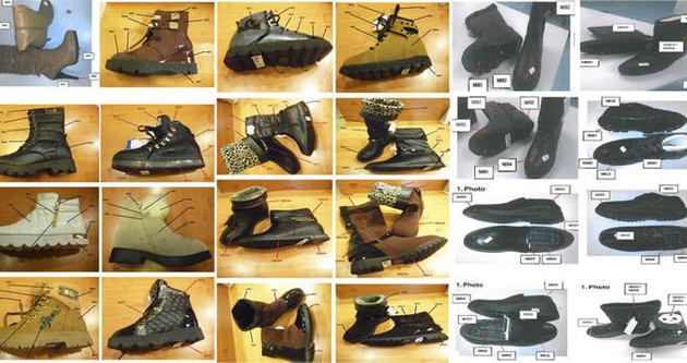 Bakanlık kanserojen ayakkabıların fotoğraflarını paylaştı