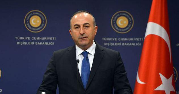 Çavuşoğlu: 'DAİŞ'e de YPG'ye de destek veremeyiz'