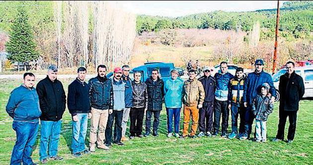 Bucak'ta oryantiring şampiyonası