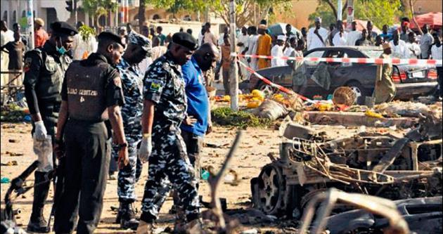 Cuma namazında bombalı saldırı