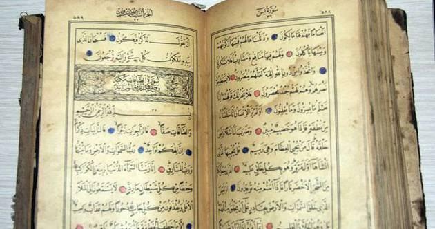 500 yıllık Kur'an-ı Kerim çalındı