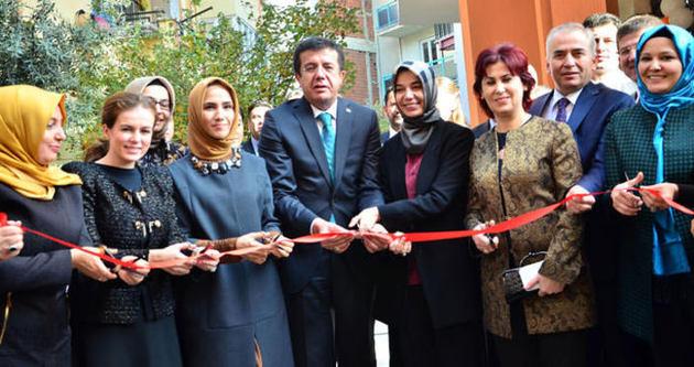Sümeyye Erdoğan, KADEM'in 2. şubesini açtı