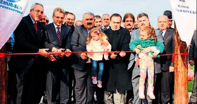 Maden Şehitleri Parkı açıldı