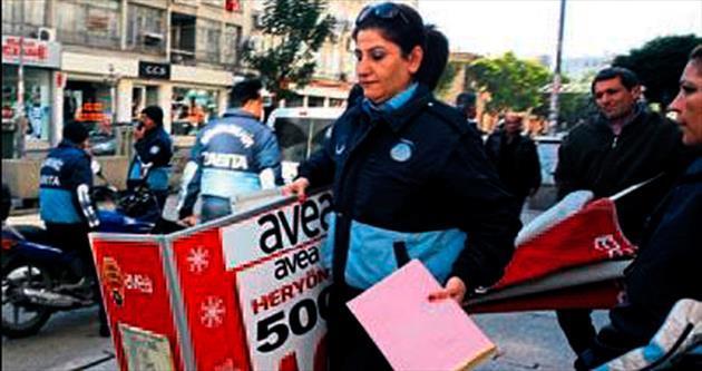 Mersin'de kaldırımlar işgalden kurtuluyor