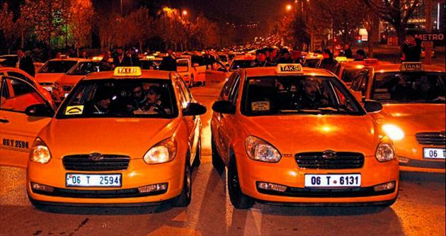 Taksi tarifelerine yüzde 10 zam