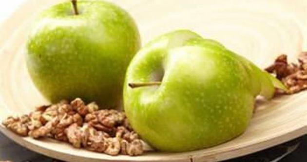 Sağlık için 1 elma 3 ceviz!