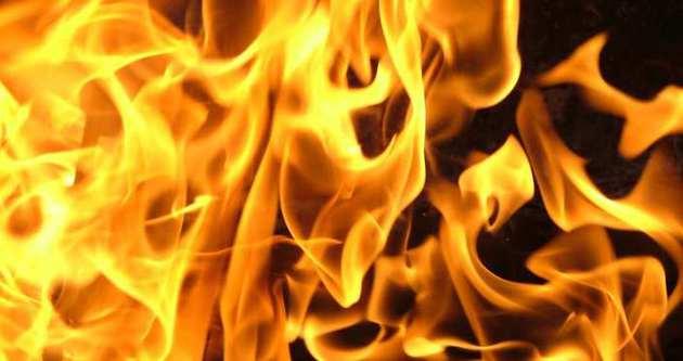 Manisa'da feci yangın: 1 ölü