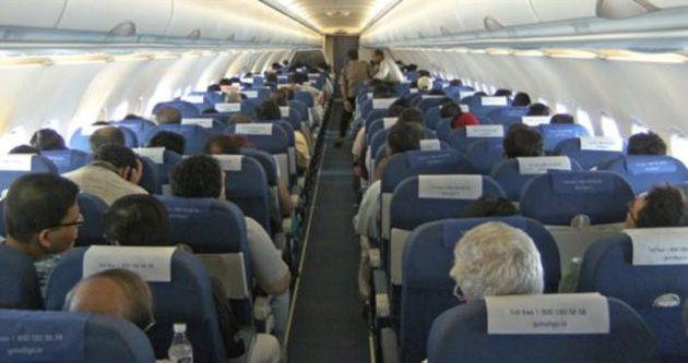 Uçakta buraya oturmak tehlikeli!