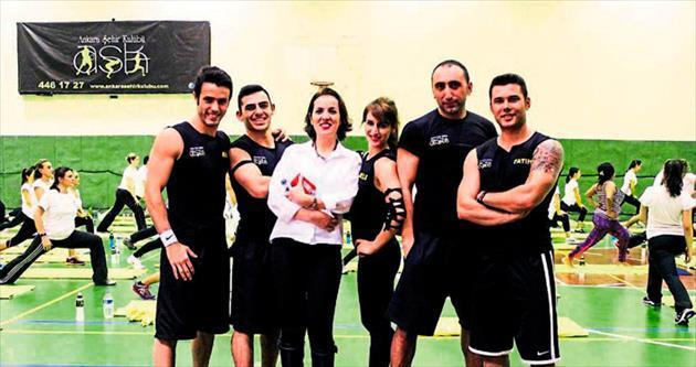 Pilatese tutkun 120 kişi A.Ş.K'ta buluştu