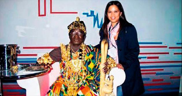 Ganalı kral Togbe taçlarını çaldırdı