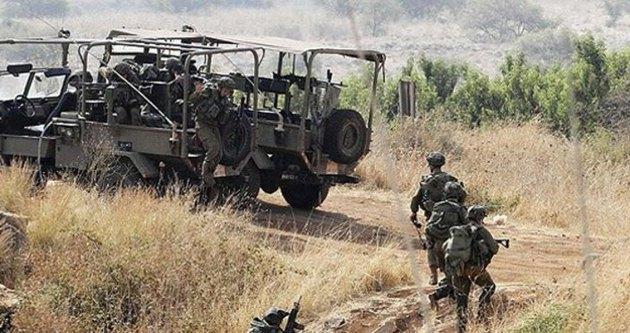 İsrail askeri tarım arazilerini yaktı