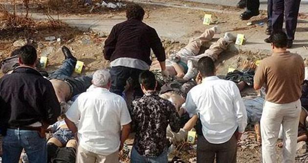 Meksika'da başı kesilmiş 5 ceset!
