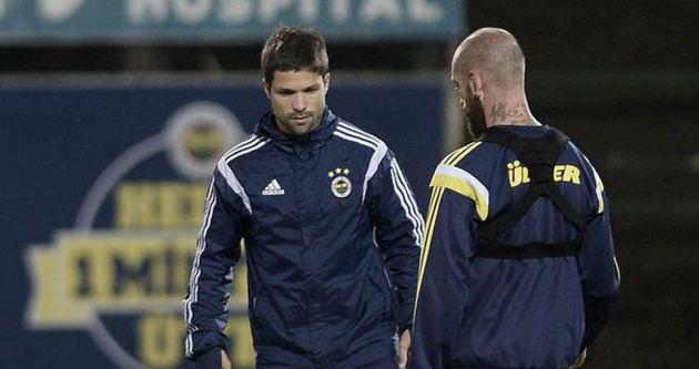 Diego takımdan ayrı çalıştı