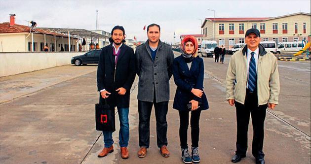 HKÜ akademik heyeti konteyner kenti gezdi
