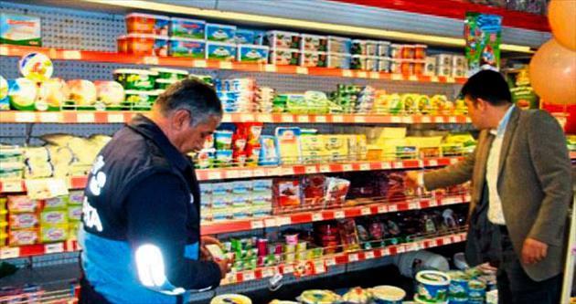 Markette gıda güvenliği zabıtanın kontrolünde