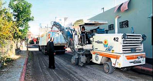 Geri dönüşümlü asfalt dönemi