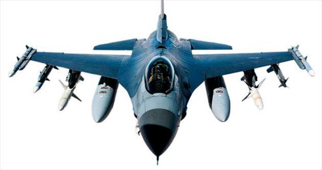 F-16 düştü pilot kurtuldu