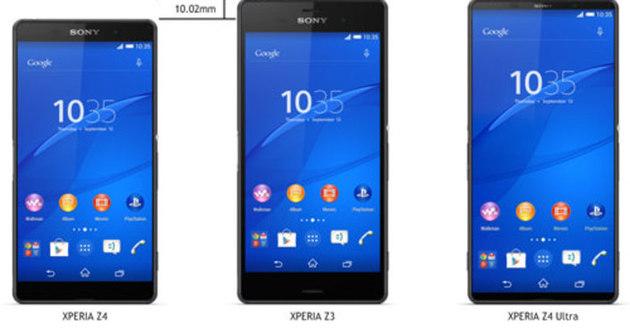 Sony xperia z4 den haber var