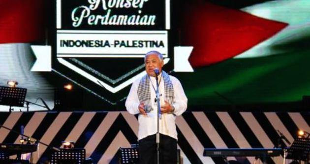 Endonezya'da Filistin'e yardım konseri