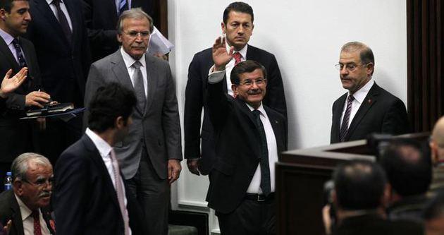 Davutoğlu: Ermenek'teki madencilere maaş bağlanacak