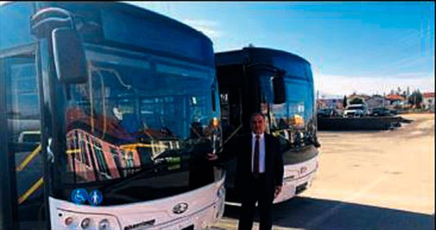 Halk otobüsleri modernleşiyor