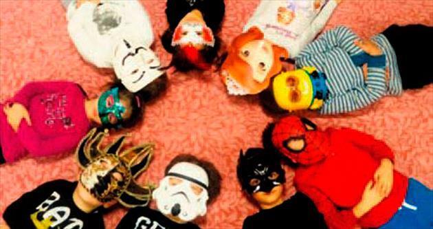'Maskeli Balo'da çok eğlendiler