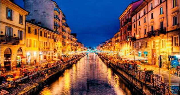 Sokakları podyum gibi bir şehir